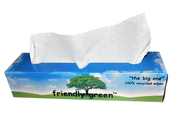 Comparing Friendly Green Delicate Task Wipes to Leading Brands 1